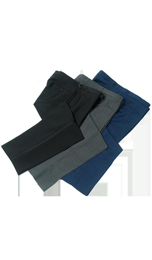 Pants Feature Cutout