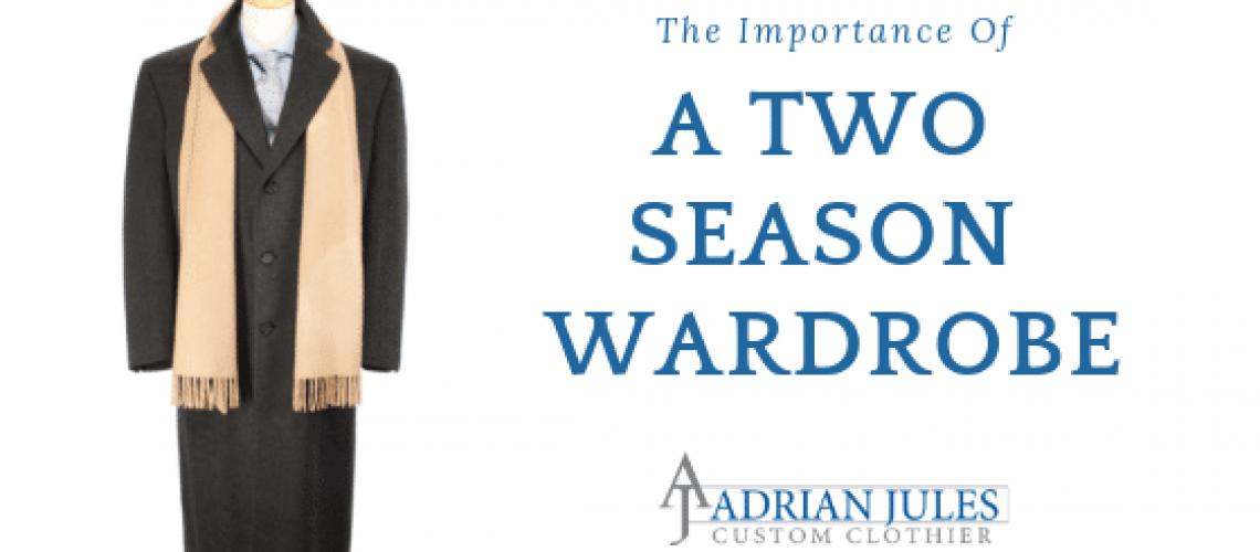 two-season wardrobe